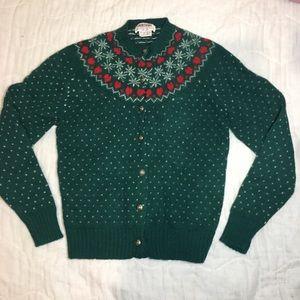 Skyr 100% Shetland Wool Fair Isle Sweater